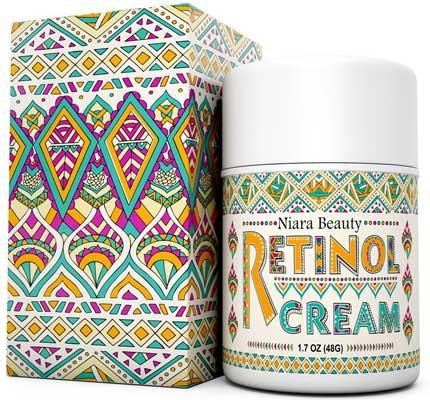 Retinol Cream Moisturizer for Face & Eyes