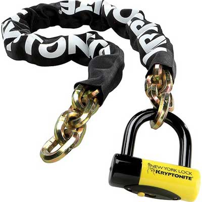 Kryptonite 999492 Black bike lock