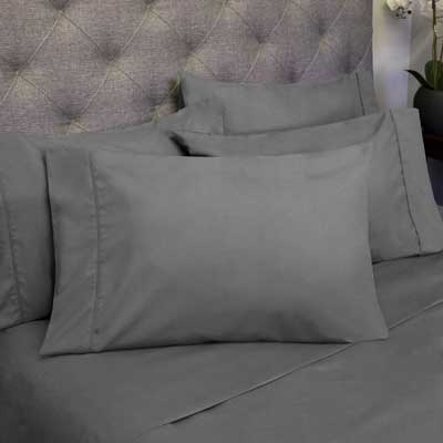 6 Piece 1500 Thread Count Egyptian Quality Deep Pocket Bed Sheet Set