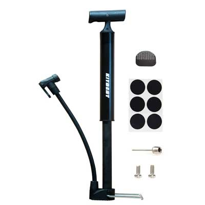 Kitbest Aluminum Alloy Portable Bike Floor Pump