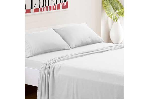 TasteLife 105 GSM Deep Pocket Bed Sheet Set