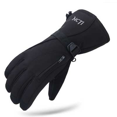 MCTi Waterproof Windproof Men's Snowmobile Ski Gloves