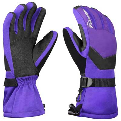 OutdoorMaster Womens' Ski Gloves