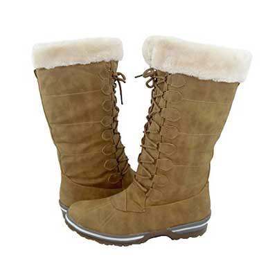 Comfy Moda Women's Winter Snow Boots