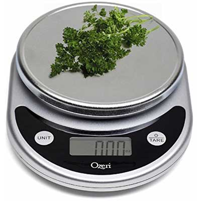 Ozeri Quickly Digital Multifunction Kitchen and Food Scale