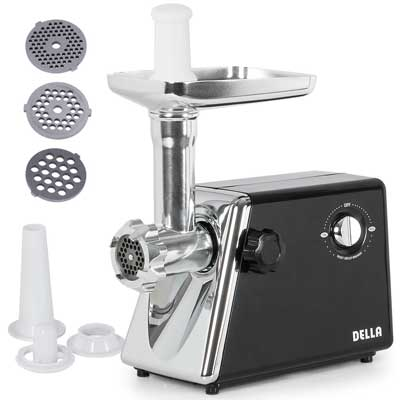 Della Stainless Steel Electric Meat Grinder