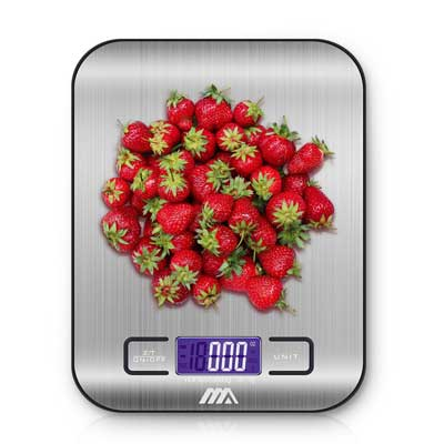 Adoric Food Scale, Digital Kitchen Scale