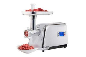 best stainless steel electric meat grinders reviews