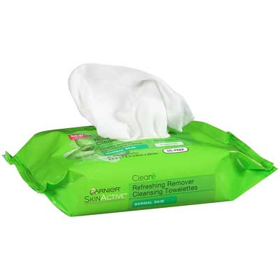 Garnier SkinActive Clean+ Refreshing Makeup Remover Wipes