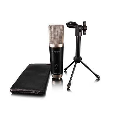 M-Audio Vocal Studio | Digital Recording Bundle and USB Condenser Microphone