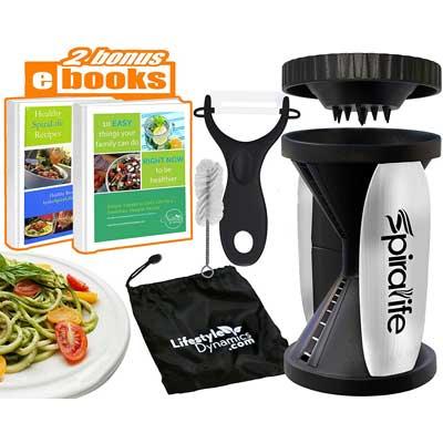 Lifestyle Dynamics Original SpiraLife Vegetable Spiralizer