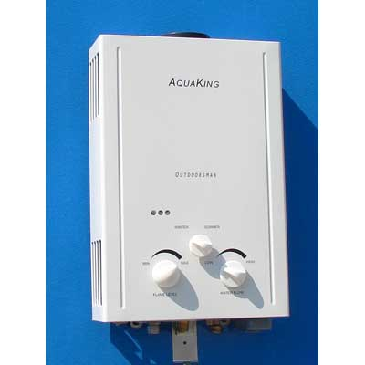 Aquaking Outdoorsman Tankless Water Heater