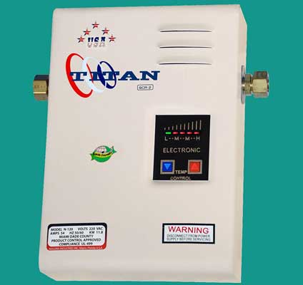 Titan SCR2 N-120 Electric Tankless Water Heater