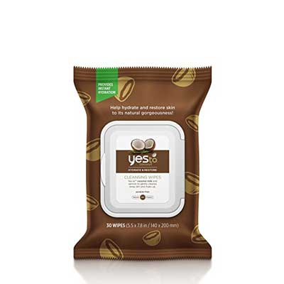 Yes To Coconut Hydrate & Restore Cleansing Facial Wipes