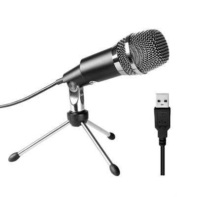 Home Studio USB Condenser Microphone