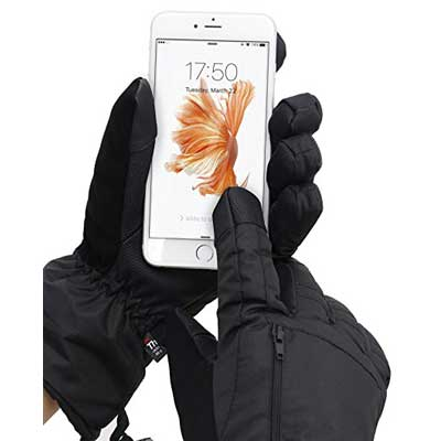 ANDORRA Men Touchscreen Gloves