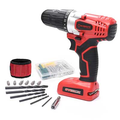 WORKSITE 8V Electric Cordless Drill Screwdriver