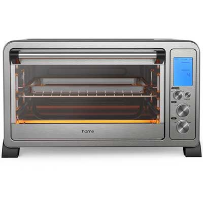 hOmeLabs 6 Slice Convection Toaster Oven