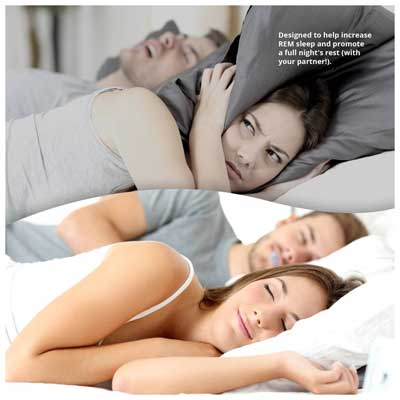 SleepWell Pro Anti Snore Tongue Stabilizing Sleep Aid Device