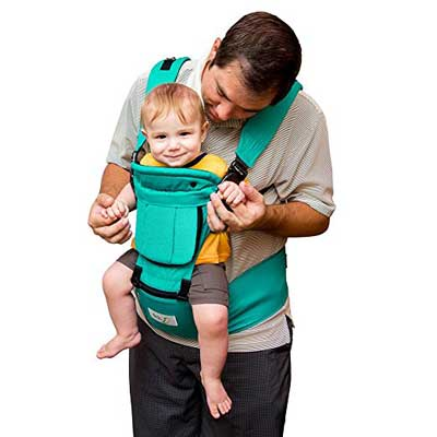 Baby steps Ergonomic baby carrier