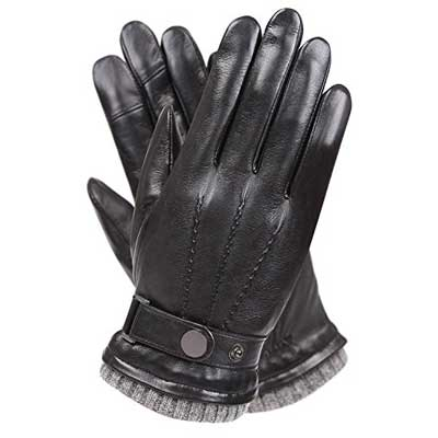Men's Texting Touchscreen Winter Gloves