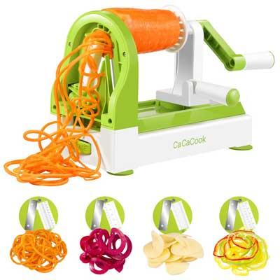 CaCaCook Spiralizer Vegetable Slicer