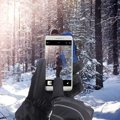 Fazitrip Touchscreen Winter gloves