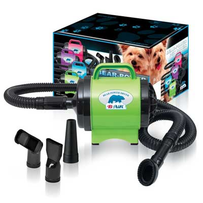 BPD-1 Bear Power 2 HP High-Velocity Pet Groomer Dryer, Lime Green
