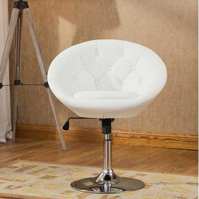 Awesome Top 10 Best Round Back Swivel Chairs In 2019 Reviews Ncnpc Chair Design For Home Ncnpcorg