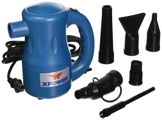 XPOWER A-2 Airrow Pro Multi-Use Electric Computer Duster Dryer Air Pump Blower