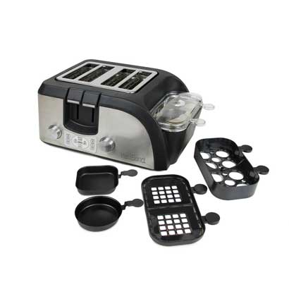 West Bend Toaster Oven Breakfast Station, Egg and Muffin Sandwich Maker