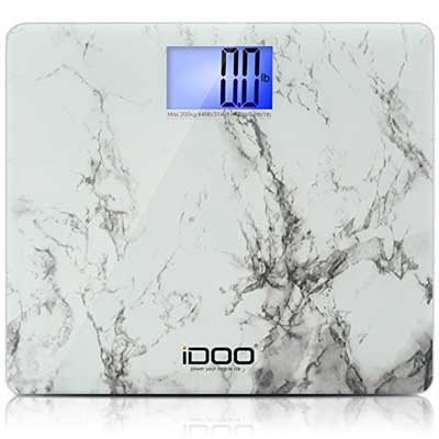 iDOO Precision Ultra Wide Oversized Digital Bathroom Weight Scale