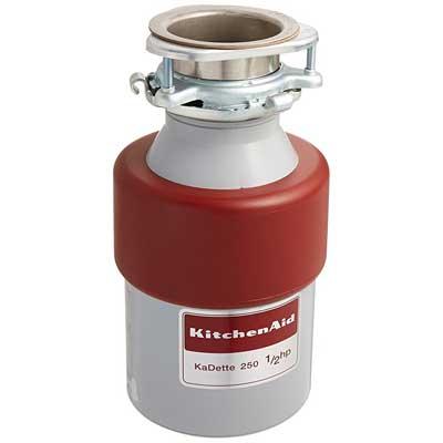 KitchenAid KCDB250G Continuous Feed Garbage Disposal