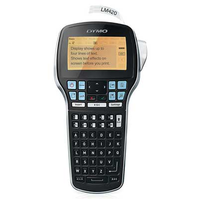 DYMO LabelManager 420P High-Performance Rechargeable Label Maker