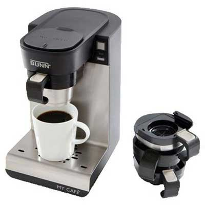 BUNN MCU Single Cup Multi-Use Home Coffee Brewer