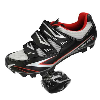 Venzo Mountain Bike Bicycle Cycling Shimano SPD Shoes