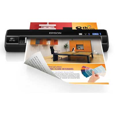 Epson Workforce DS-40 Wireless Portable Scanner