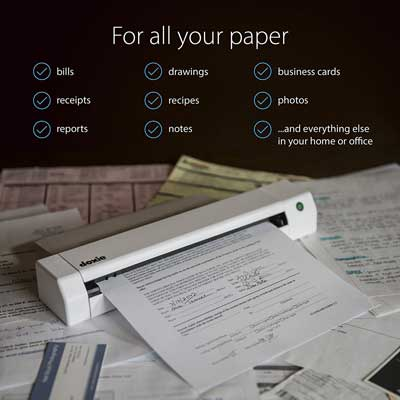 Doxie Go SE Intuitive Portable Scanner
