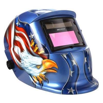 COOCHEER Solar Arc Tig Mig Auto Darkening Helmet