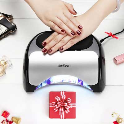 SunYear Upgraded 48W LED UV Nail dryer