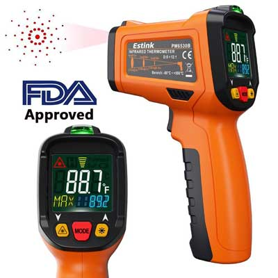 ES6530B Non-Contact Digital Laser IR Infrared Thermometer Temperature Gun