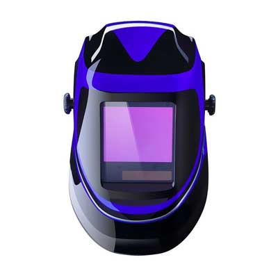 Deep Sea Solar Powered Welding Helmet by DEKOPRO