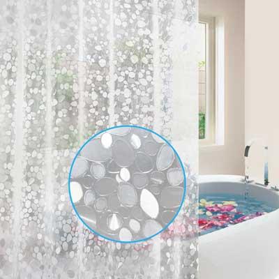 Feagar EVA Shower Curtain Liner