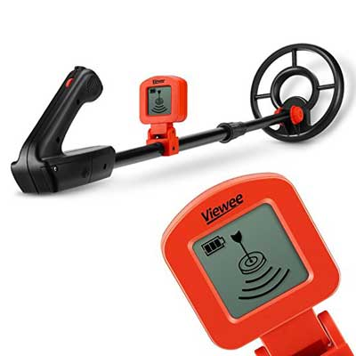 Viewee Metal Detector with LCD Display Designed for juniors