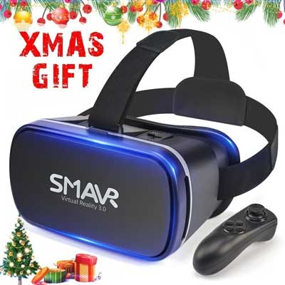 SMAVR 3D VR Immersive Headset Glasses