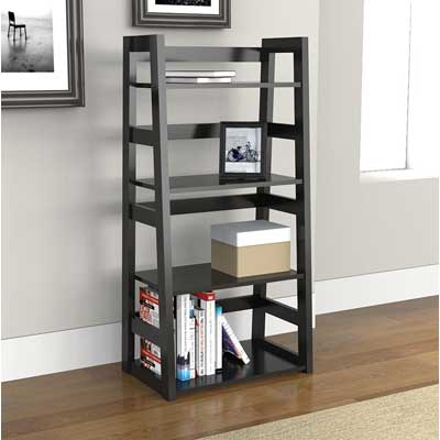 Convenience Concepts Traditional 4-Tier Trestle Bookcase