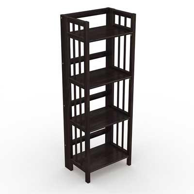 Stony-Edge No assembly Folding bookcase