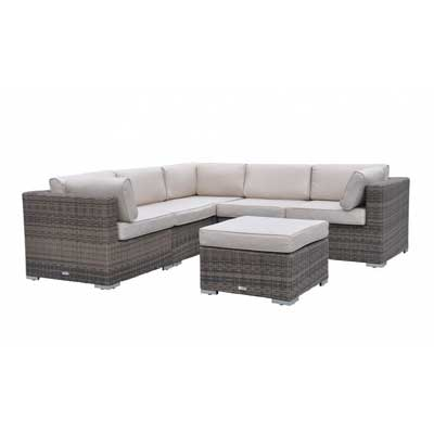 Radeway Sectional Outdoor Patio Furniture Sets Wicker Rattan Sofa with Covers