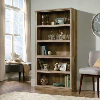 Sauder 420174 5-Shelf Bookcase