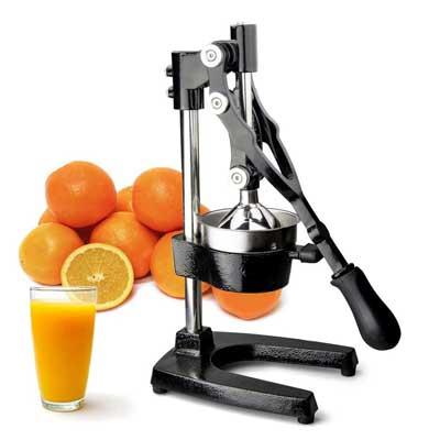 TrueCraftware Commercial Citrus Juicer Hand Press